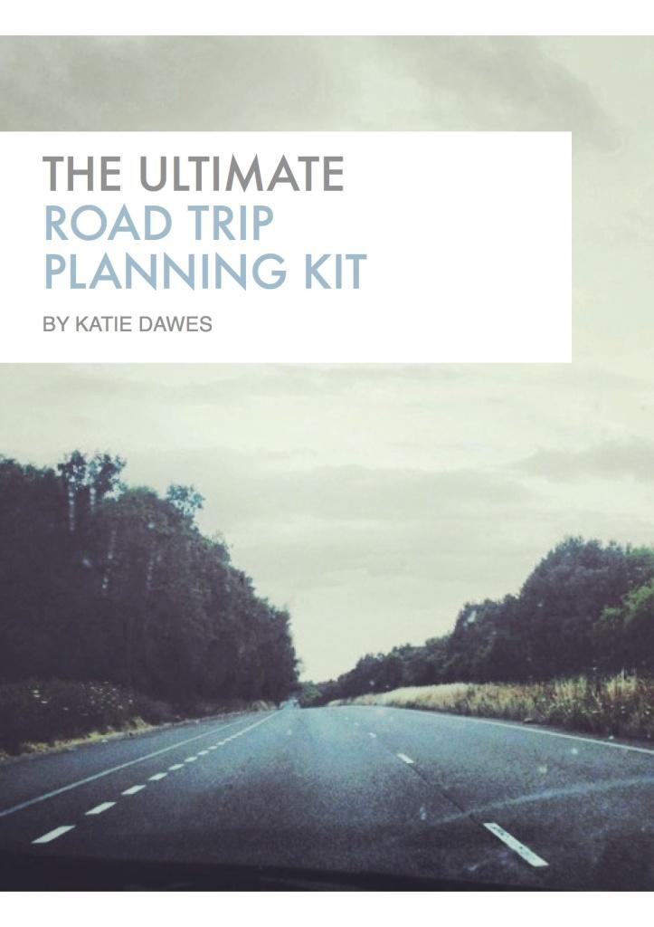 Road Trip Planner Planning Kit Guide