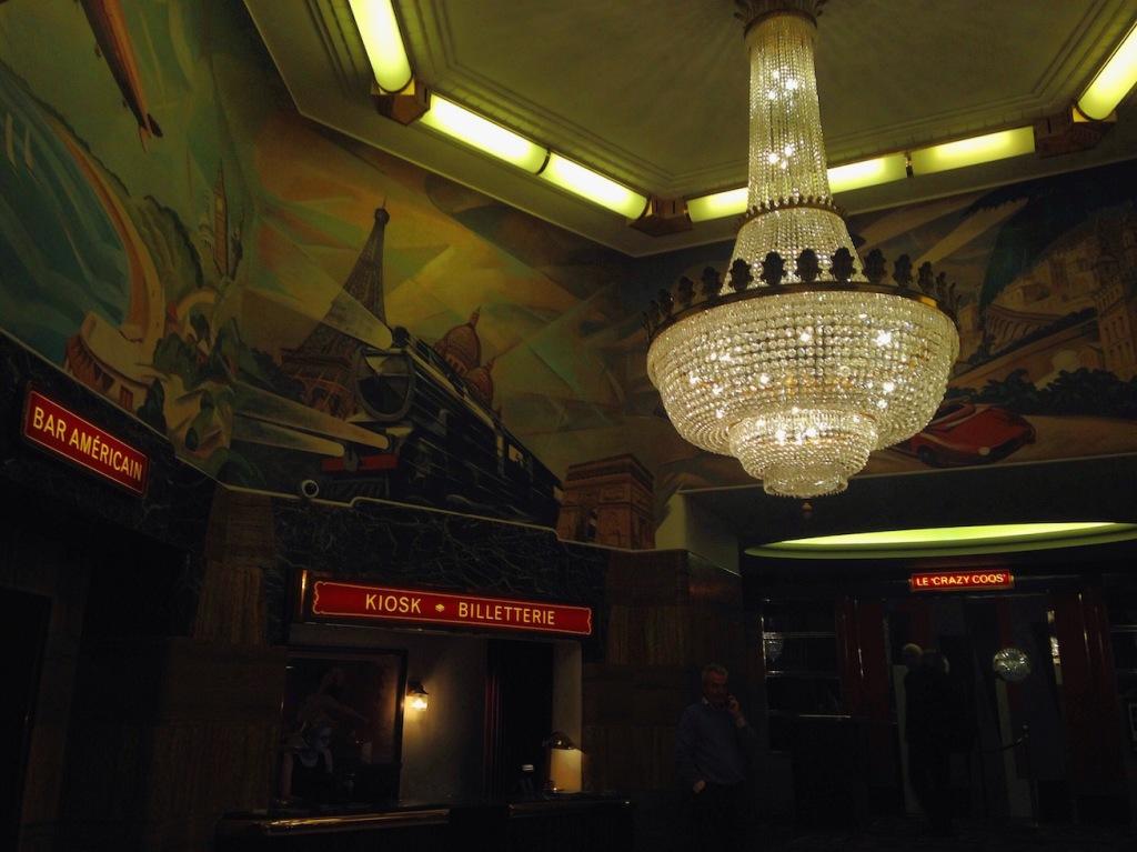 Brasserie Zédel Interior Chandelier