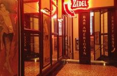 The entrance to Brasserie Zédel Soho London