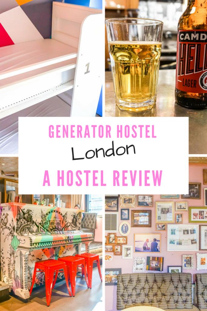 REVIEW Generator Hostel London Pinterest
