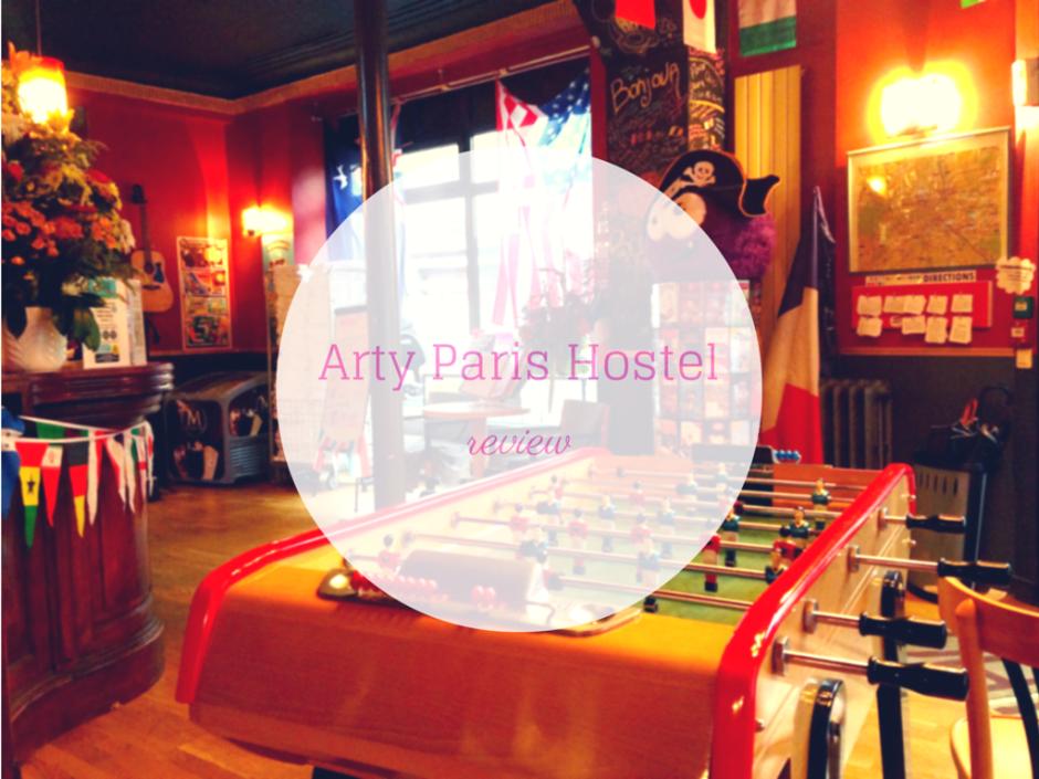 ARTY PARIS HOSTEL REVIEW