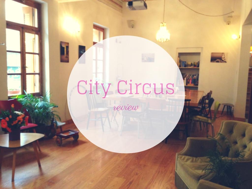 CITY CIRCUS HOSTEL ATHENS REVIEW