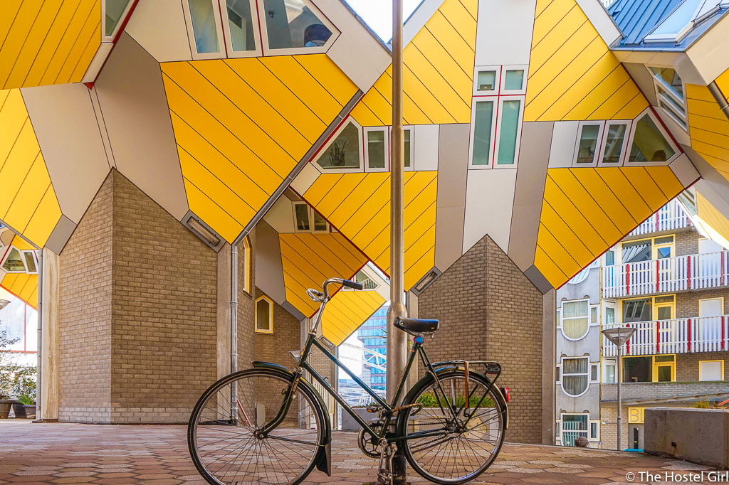 Cube Houses in Rotterdam -5