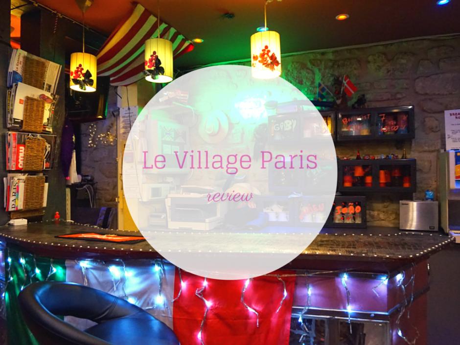 LE VILLAGE HOSTEL PARIS Hip Hop Hostels