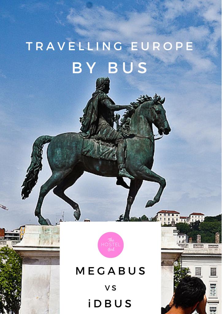 Travelling Europe By Bus - iDBus vs Megabus