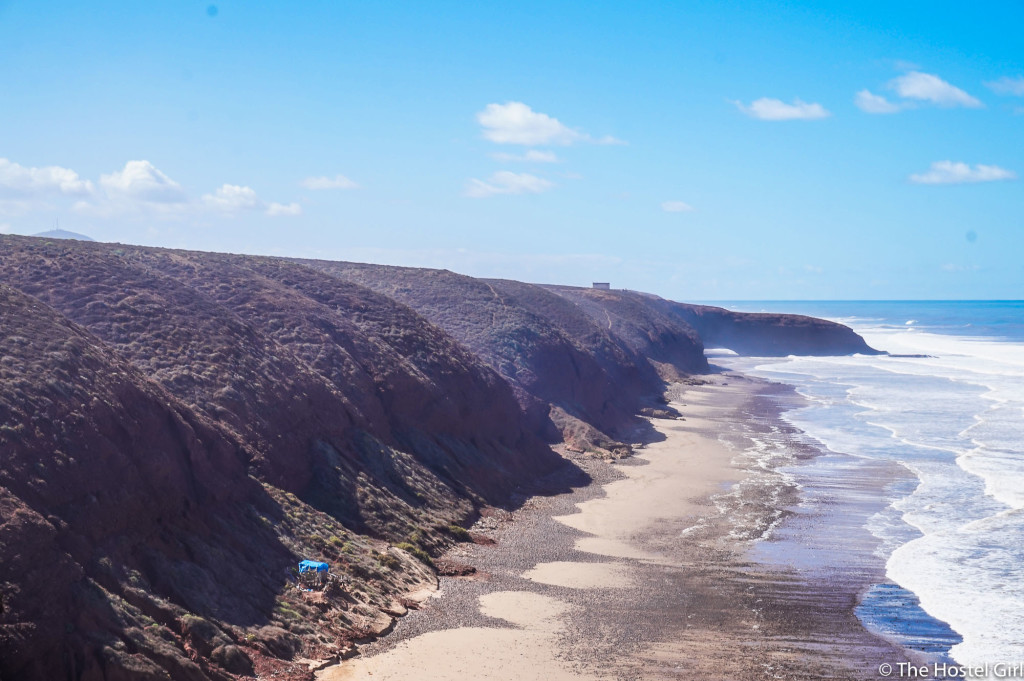 How to get to Legzira Beach from Agadir for just 5 EUR Morocco-21