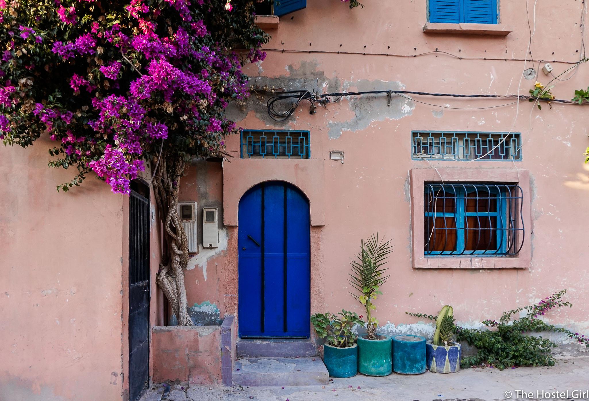 Doors of Tamraght, Morocco -1