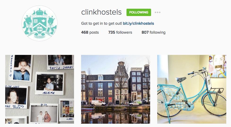 3 Days with ClinkNOORD Hostel on Instagram
