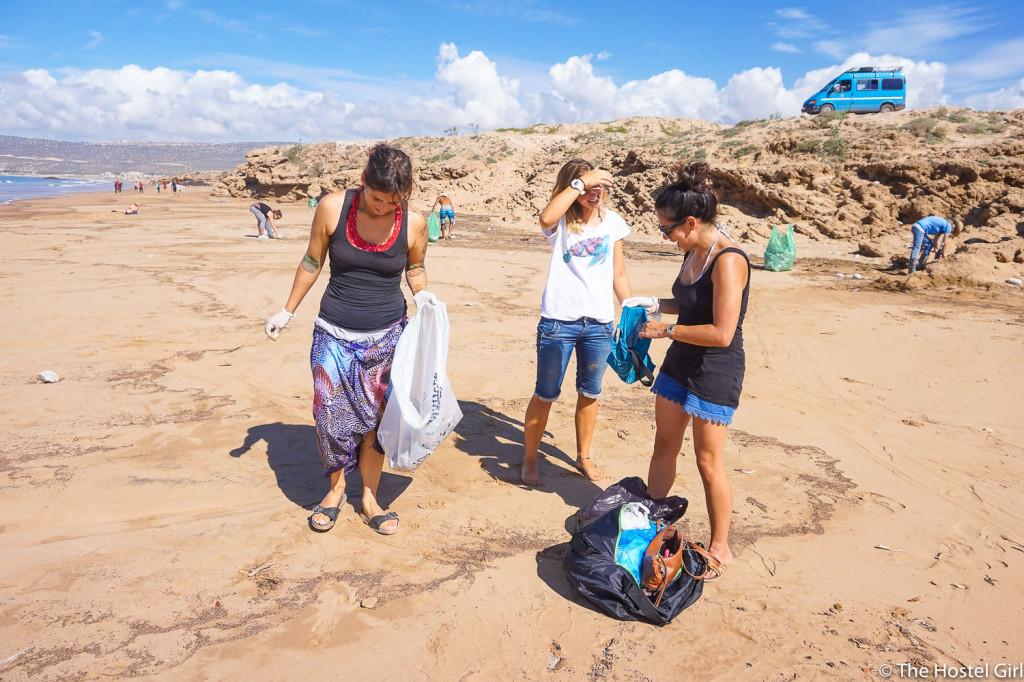 Morocco Beach Clean & How To Run Your Own Beach Clean -3