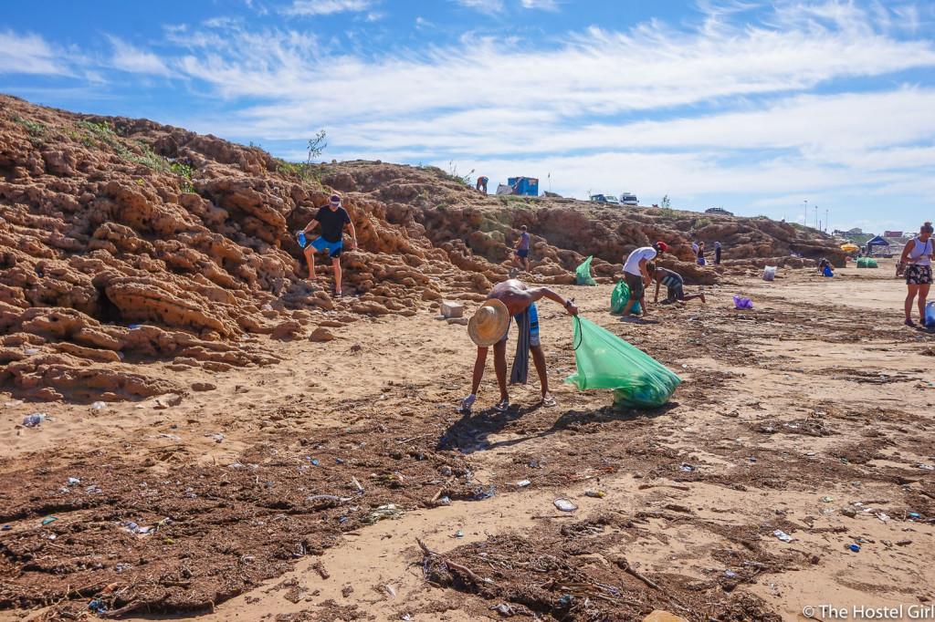 Morocco Beach Clean & How To Run Your Own Beach Clean -5