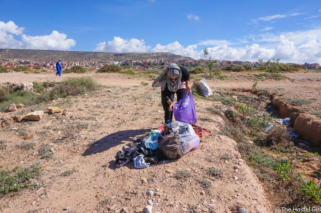 Morocco Beach Clean & How To Run Your Own Beach Clean -6