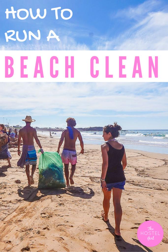 Morocco Beach Clean & How To Run Your Own Beach Clean