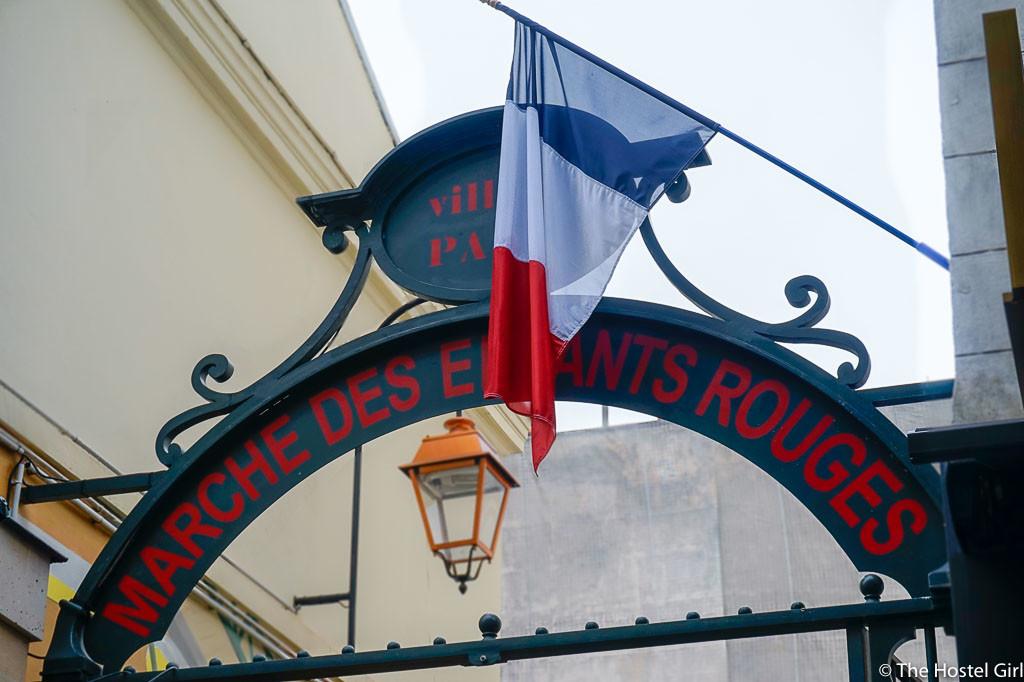 Exploring Le Marais with RobertPINK Paris Walking Tours -1 Marché des Enfants Rouges