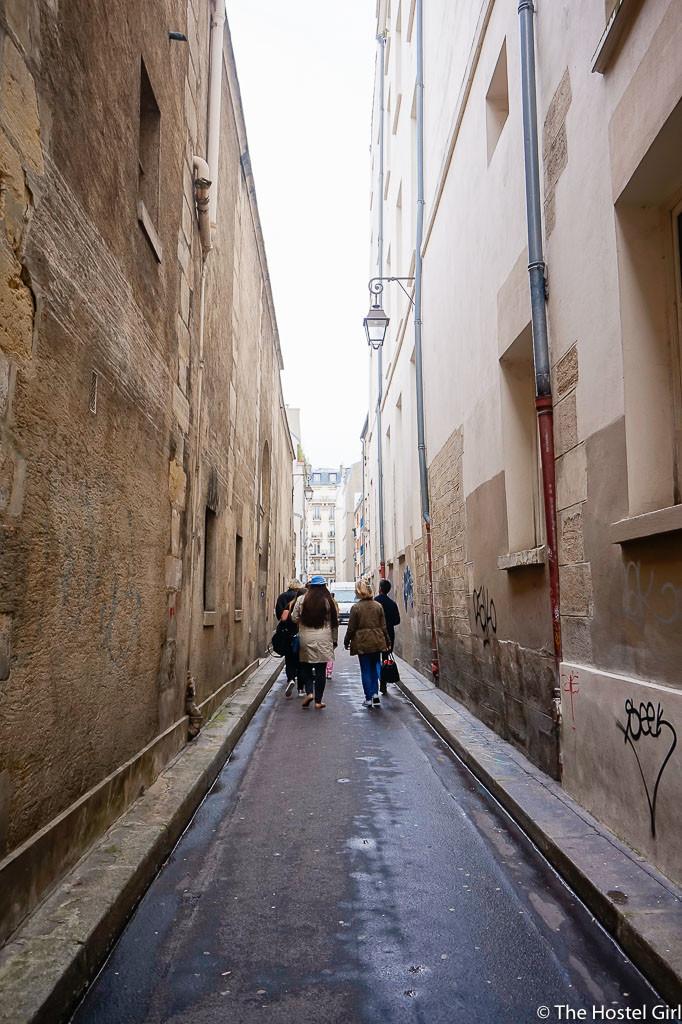 Exploring Le Marais with RobertPINK Paris Walking Tour -31
