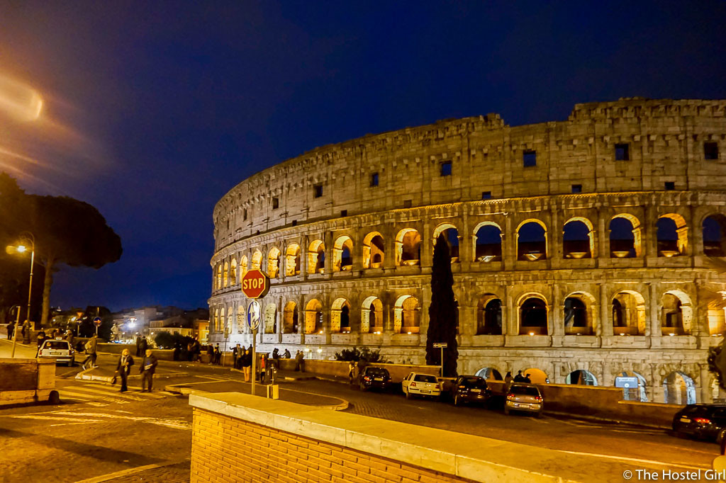 How To Photograph European Landmarks -7 Colosseum Rome