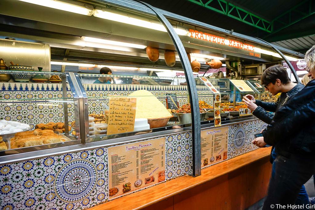 Affordable Places to Eat in Paris on a Budget - The Hostel Girl -20 Marché des Enfants Rouges