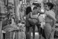Las Dalias- The Hippy Markets of Ibiza in Black and White -1