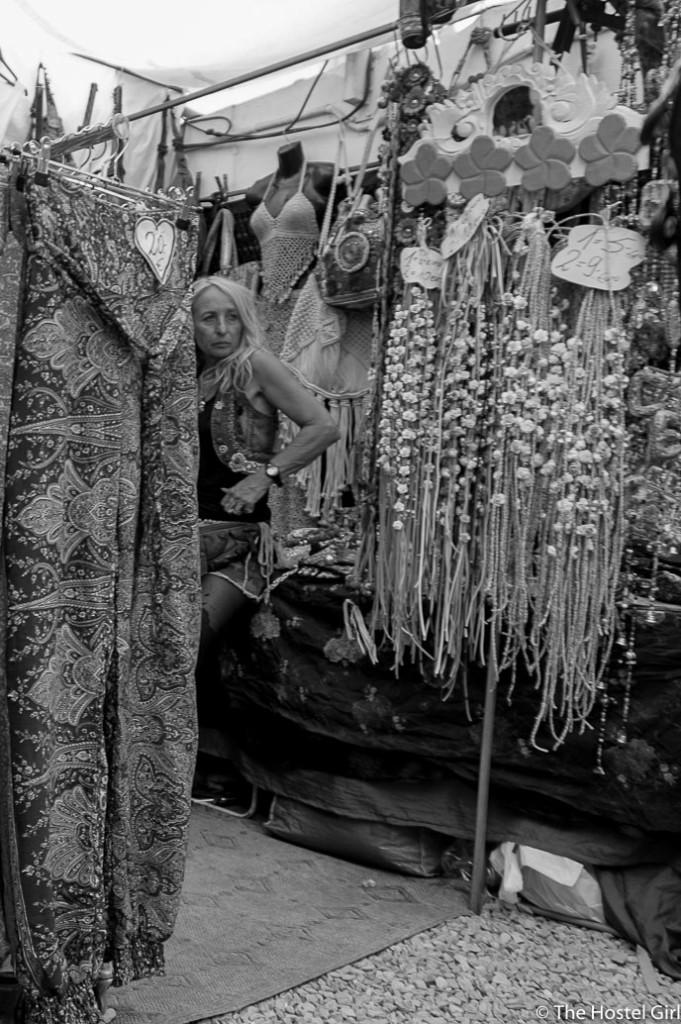 Las Dalias- The Hippy Markets of Ibiza in Black and White -2