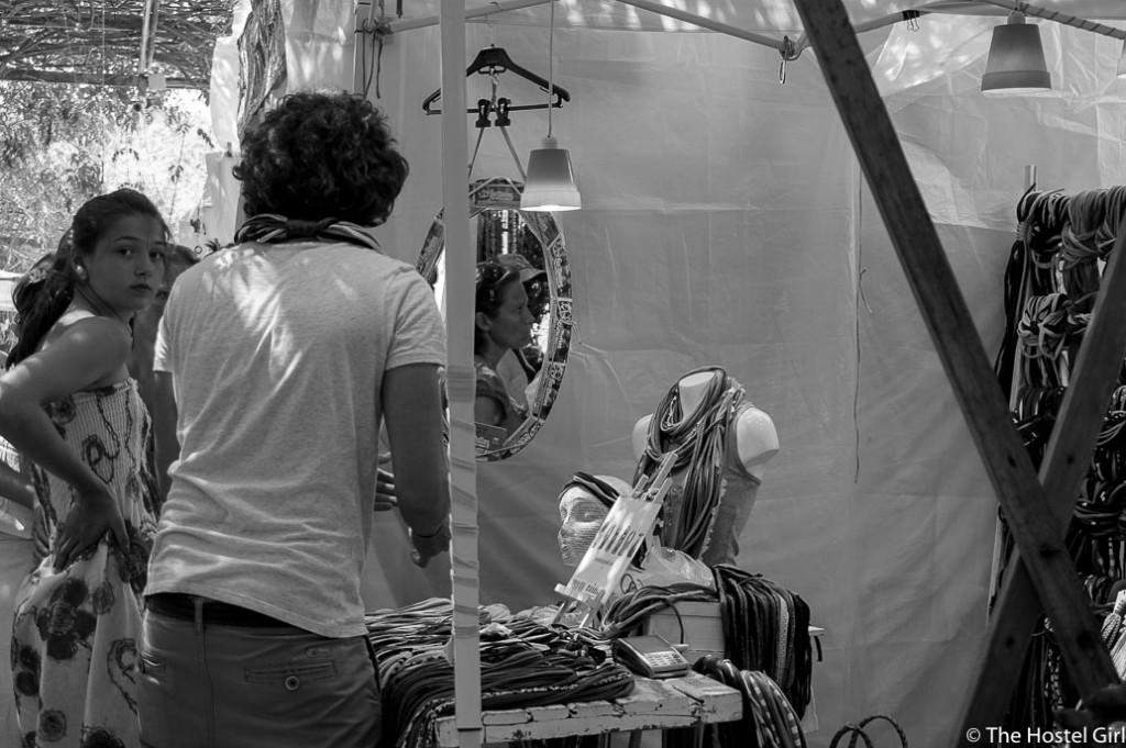 Las Dalias- The Hippy Markets of Ibiza in Black and White -8