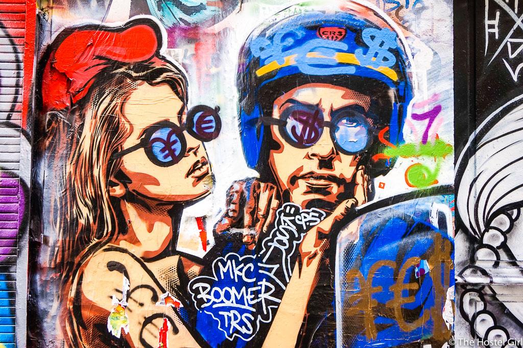 belleville where to find powerful street art in paris. Black Bedroom Furniture Sets. Home Design Ideas