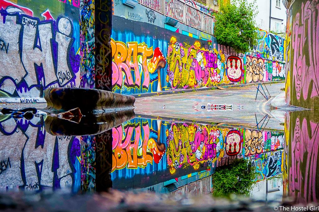 Leake Street Graffiti Tunnel- How To Find Secret London Street Art -1
