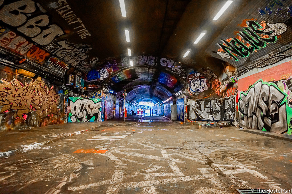How to Find Leake Street Graffiti Tunnel
