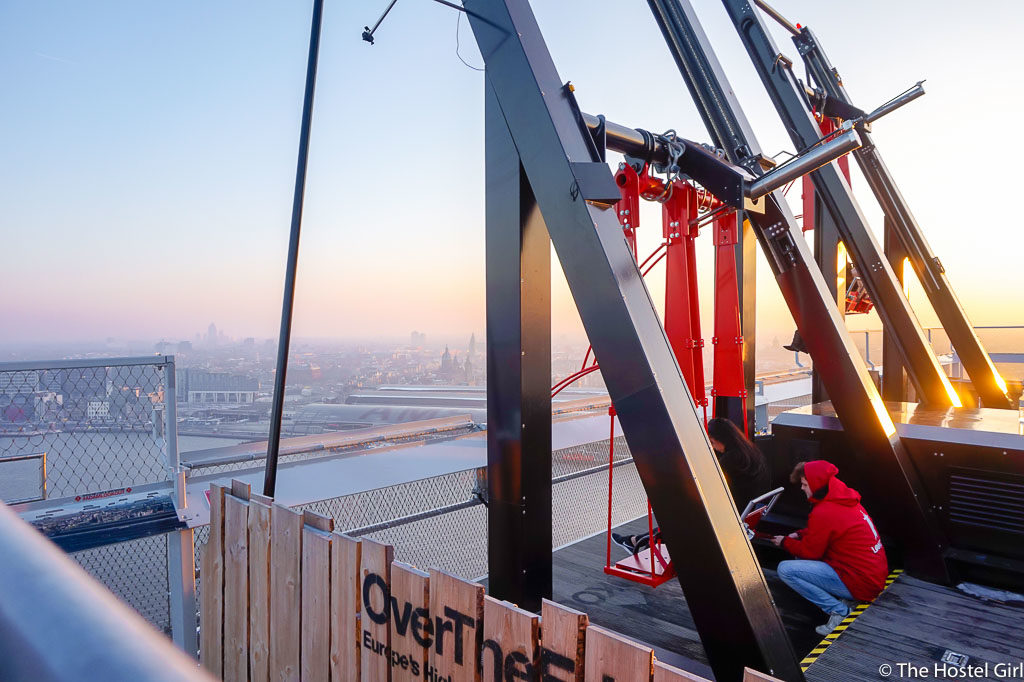 STAY WYSE Conference 2017 Over The Edge Swing Amsterdam -1