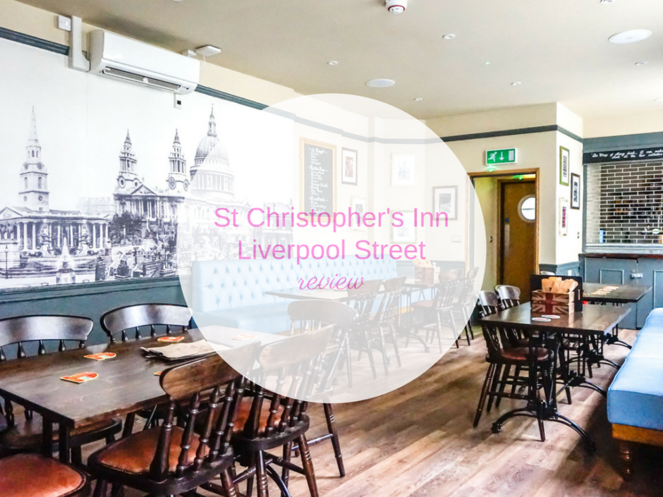 REVIEW St Christopher's Inn Liverpool Street London
