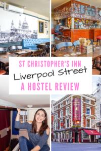St Christopher's Inn Liverpool Street Hostel Review London 1