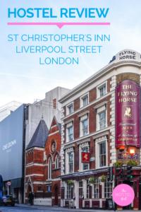 St Christopher's Inn Liverpool Street Hostel Review London 2
