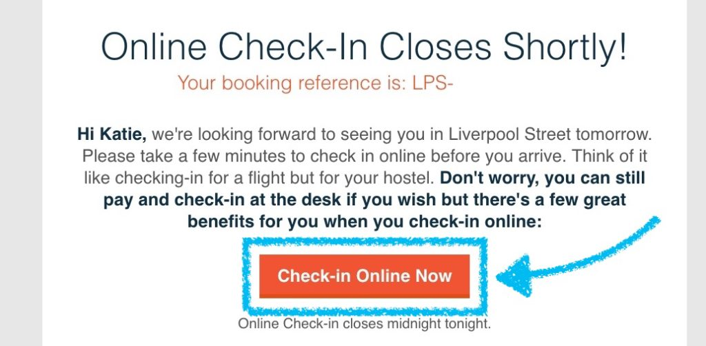 How To Check-In Online With St Christopher's Inn Hostels Step 2 copy