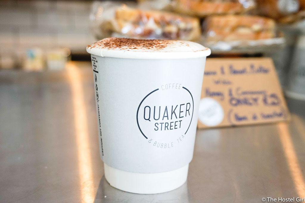 Quaker Street Cafe - Coffee Cake & Street Art in Shoreditch London -1