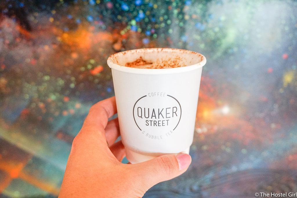 Quaker Street Cafe - Coffee Cake & Street Art in Shoreditch London -2