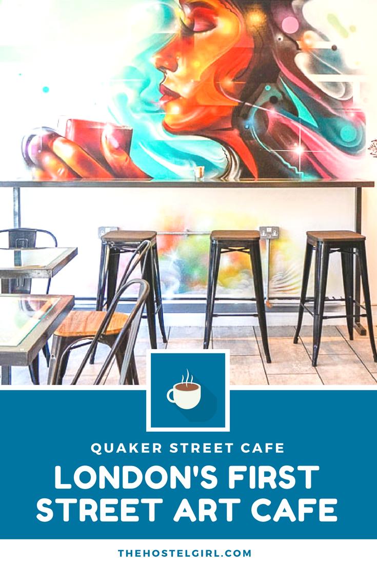 Cake Street Artist : Quaker Street Cafe: Coffee, Cake & Street Art in ...
