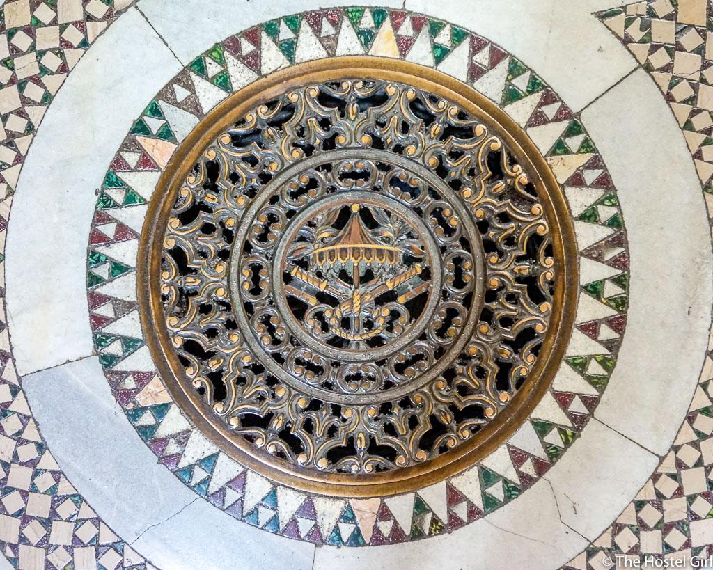 Cosmatesque Mosaic Style Churches of Rome - 12