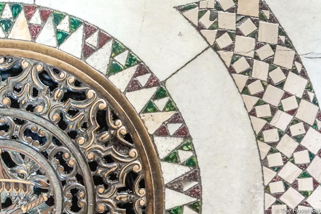 Cosmatesque Mosaic Style Churches of Rome - 13