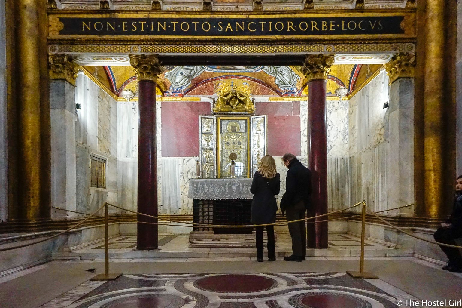 Cosmatesque Mosaic Style Churches of Rome - 30