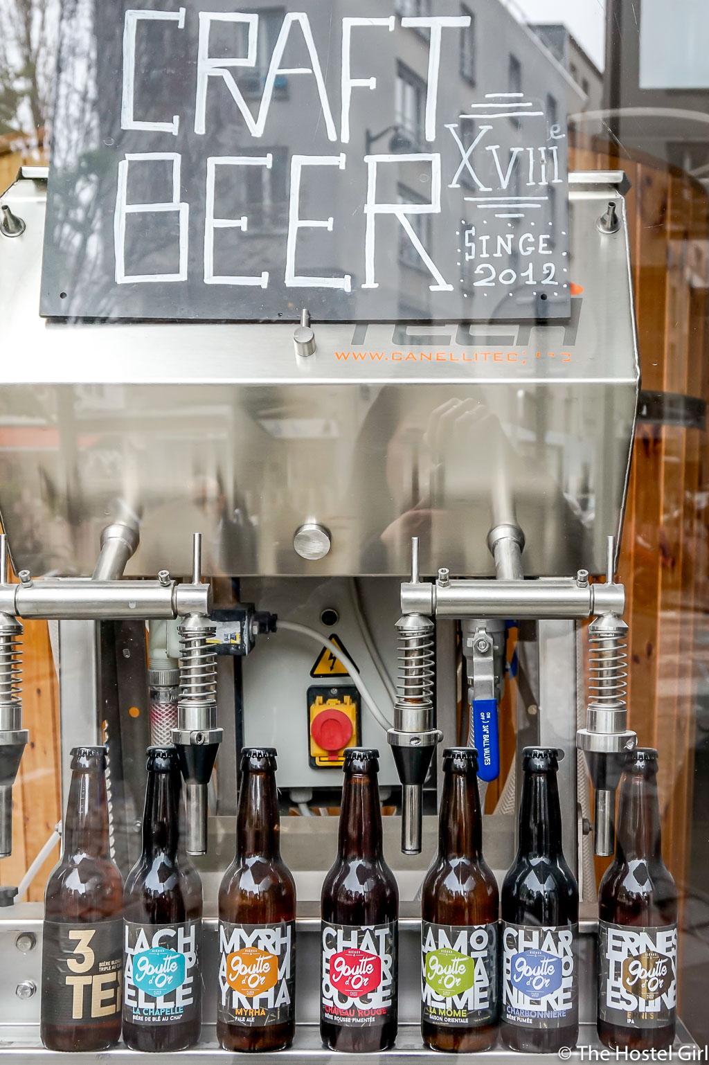 Craft Beer in Paris - Brasserie de la Goutte d'Or -14